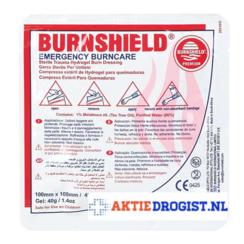 Burnshield Hydrogel kompres 20 x 20 cm 1st