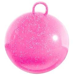 Skippybal glitter 50cm roze