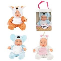 Toi Toys Beau Babypop 22,5cm in dierenpakje