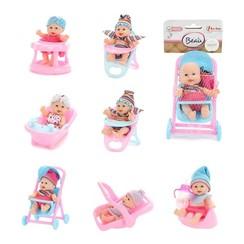 Toi Toys Beau Mini babypop 12cm -zittend