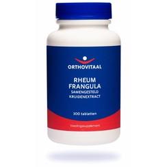 Orthovitaal Rheum frangula 300tb