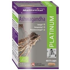 MannaVital Ashwagandha Platinum 60 capsules