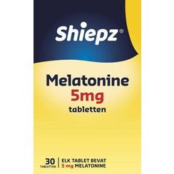 Shiepz Melatonine 5 mg 30 tabletten