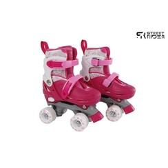 Street Rider rolschaatsen roze verstelbaar maat 27-30