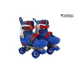 Street Rider rolschaatsen blauw verstelbaar maat 27-30