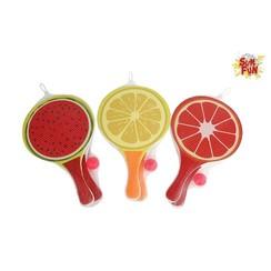 Sun Fun Beachballset fruit 38x24cm