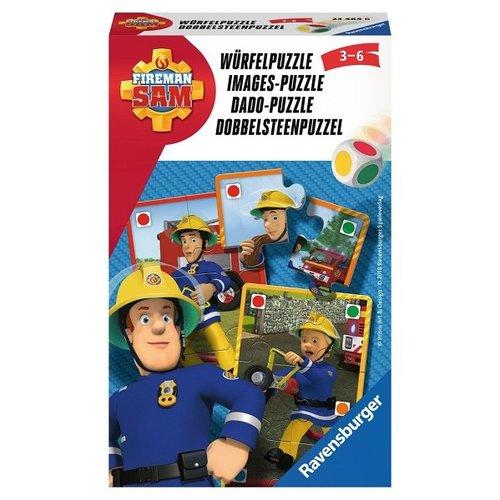 Ravensburger Brandweerman Sam dobbelsteenpuzzel