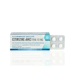 Cetrizine Teva 30 tabletten