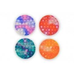 Magic Fidget Pop-it rond tie-dye Ø13cm
