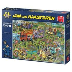 Jumbo Jan van Haasteren puzzel Food truck festival 1500 stukjes