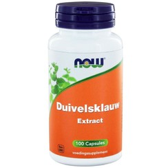 Now Duivelsklauw Extract 500mg 100 capsules