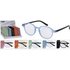 Leesbril in hoesje