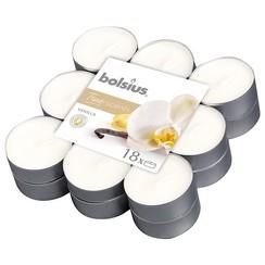 Bolsius Geurtheelicht 18 stuks True Scents Vanille