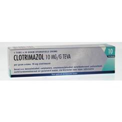 Teva Clotrimazol 10 mg/g creme 20 gram