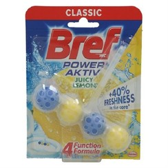 Bref Power Aktiv 50gr WC Block Lemon