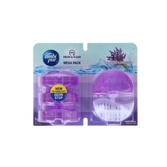 Ambi Pur Toilet Flush 55ml Starter+3x55ml navul Lavender&Rosemary