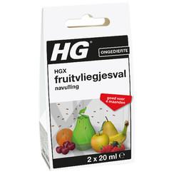 HG X Fruitvliegjesval navul 20 ml 2x20ml