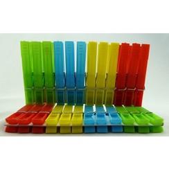 Wasknijpers plastic 74mm pak a 24st.