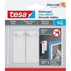 Tesa klevende spijker voor behang en pleisterwerk 1kg
