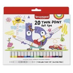 Bruynzeel 20 Twin Tip Points