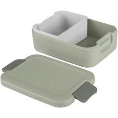 Sunware Sigma Home Lunchbox met bentobakje lichtgroen/donkergr.