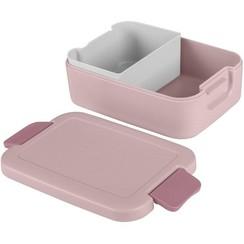 Sunware Sigma Home Lunchbox met bentobakje roze/donkerroze