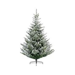 Everlands Kunstkerstboom Liberty Spruce besneeuwd 150cm hoog diameter 122 cm