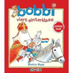 Kluitman Omkeerboek Bobbi Viert Sinterklaas/kerst