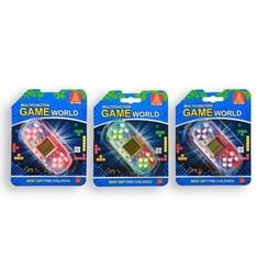 Computerspelletje brickgame Multifunction game world