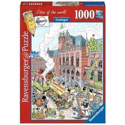 Ravensburger puzzel Fleroux Groningen 1000 stukjes