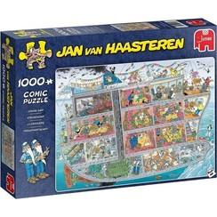 Jumbo Jan van Haasteren Cruise schip 1000pcs