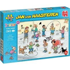 Jumbo Jan van Haasteren Junior puzzel Speelkwartiertje 240 stukjes