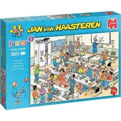 Jumbo Jan van Haasteren Junior puzzel Het klaslokaal 360 stukjes