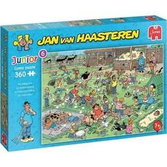 Jumbo Jan van Haasteren Junior puzzel De Kinderboerderij 360 stukjes