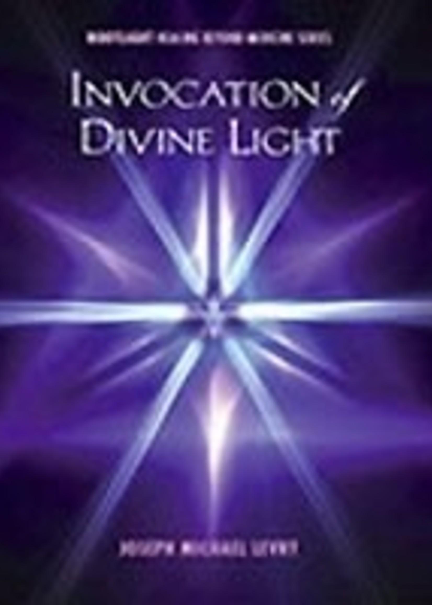 Dr Joseph Michael Levry (Gurunam ) Invocation of Divine Light