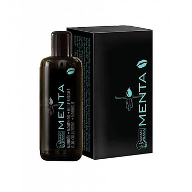 Amanprana Mouth Oil Menta for Mouthwash or Oil Pulling