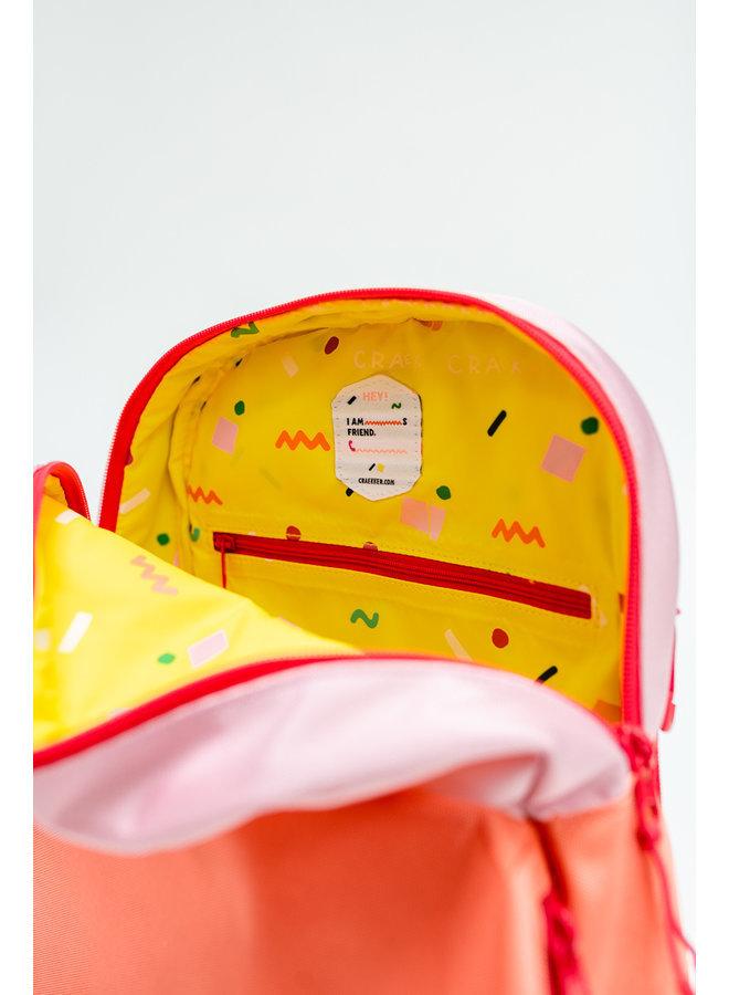 ROOKY   MINI-BACKPACK PINK-ORANGE-FUCHSIA