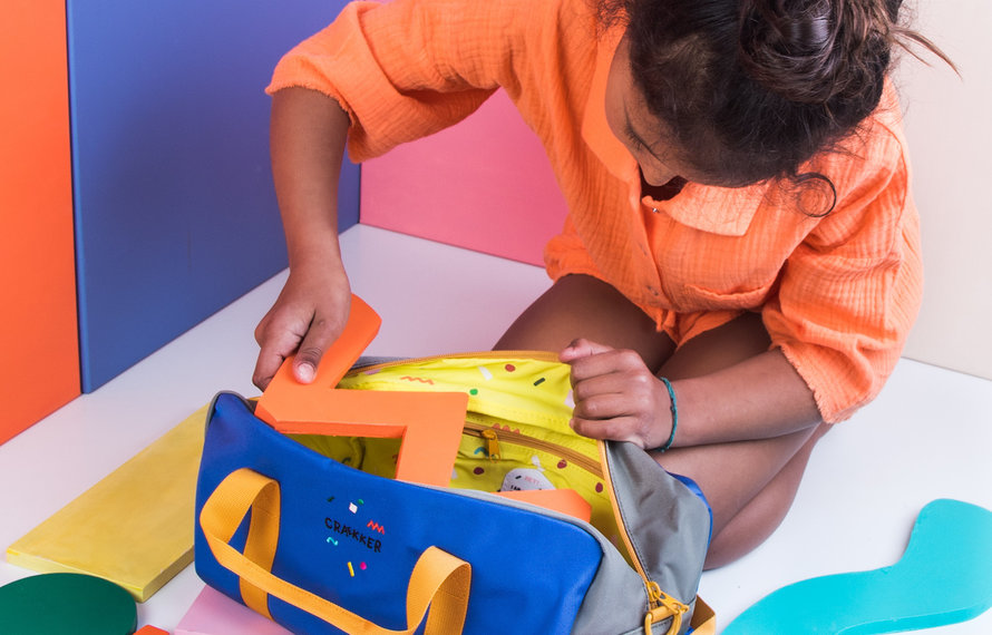 Ready, Set, Go —  5 x packing bags for kids