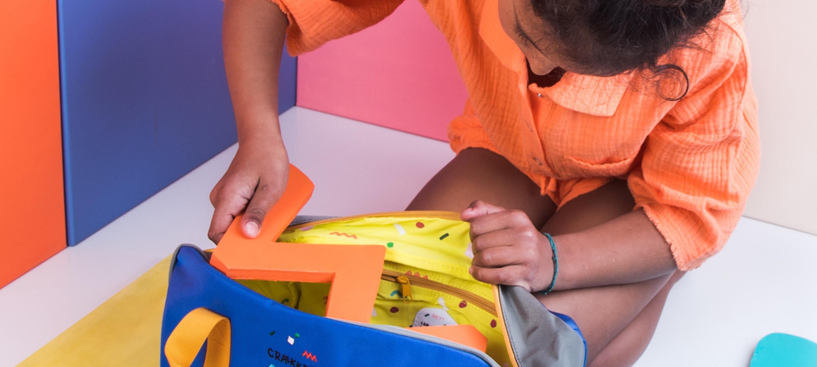 Ready, Set, Go — 5x Kindertasche packen