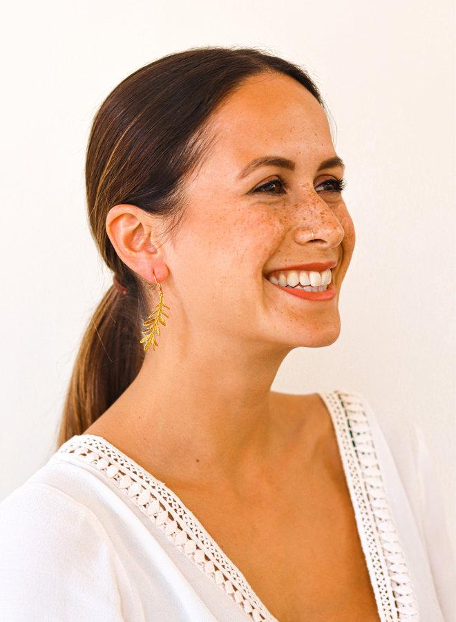 Wild rosemary earrings