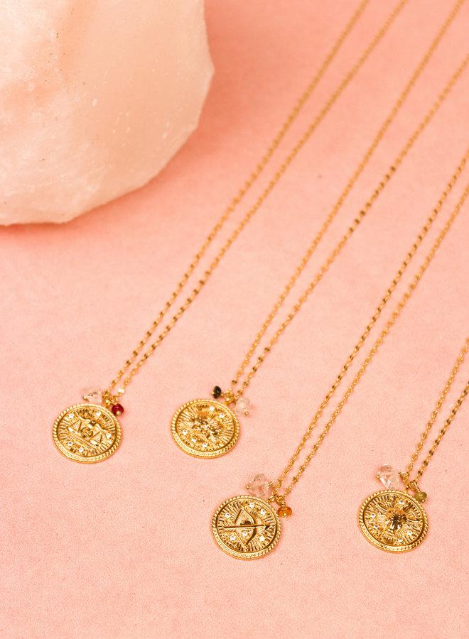 Zodiac Necklace Aries