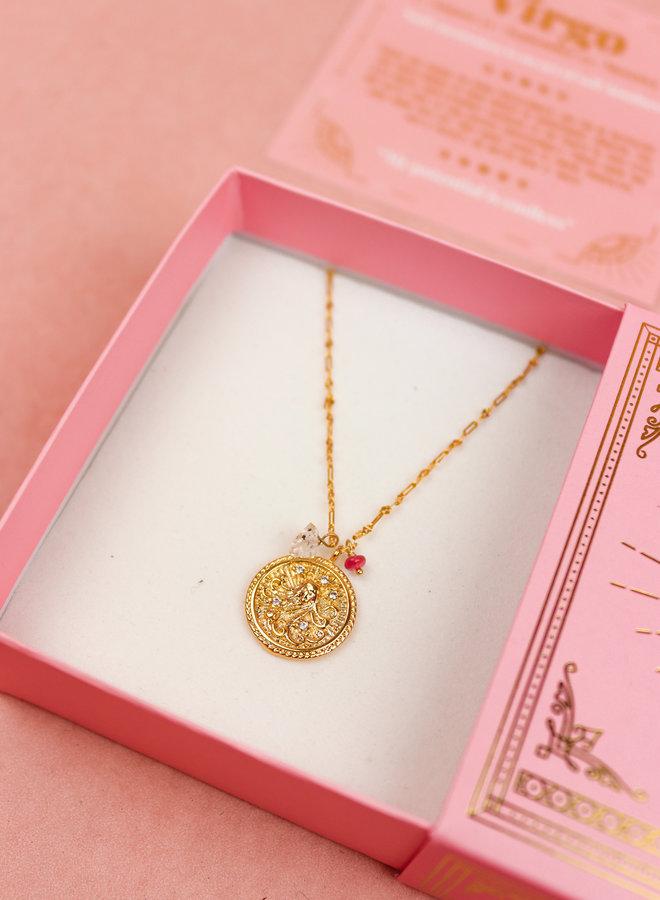 Zodiac Necklace Virgo