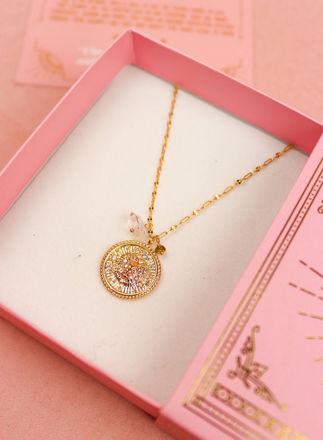 Zodiac Necklace Leo