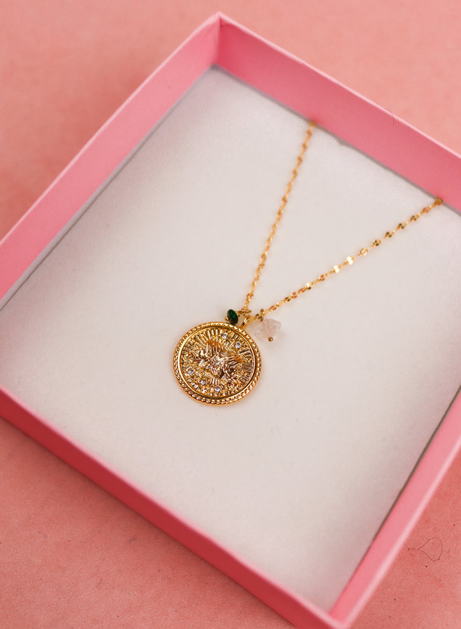 Zodiac Necklace Gemini