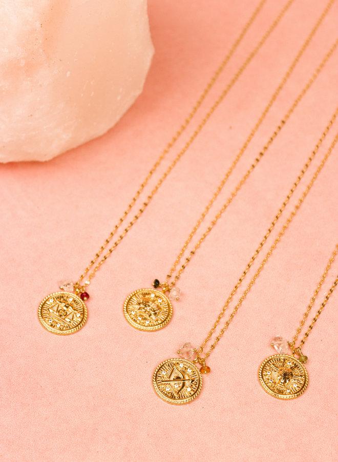 Zodiac Necklace Aquarius