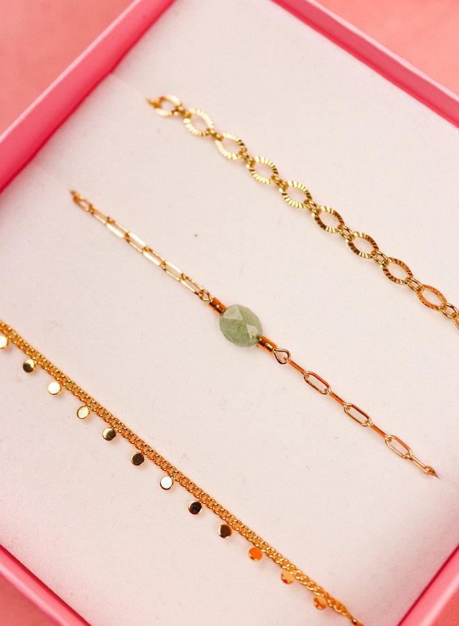 Bracelet Giftbox Set - Celestite