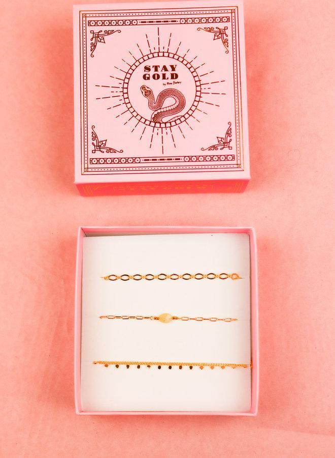 Bracelet Giftbox Set - Citrine