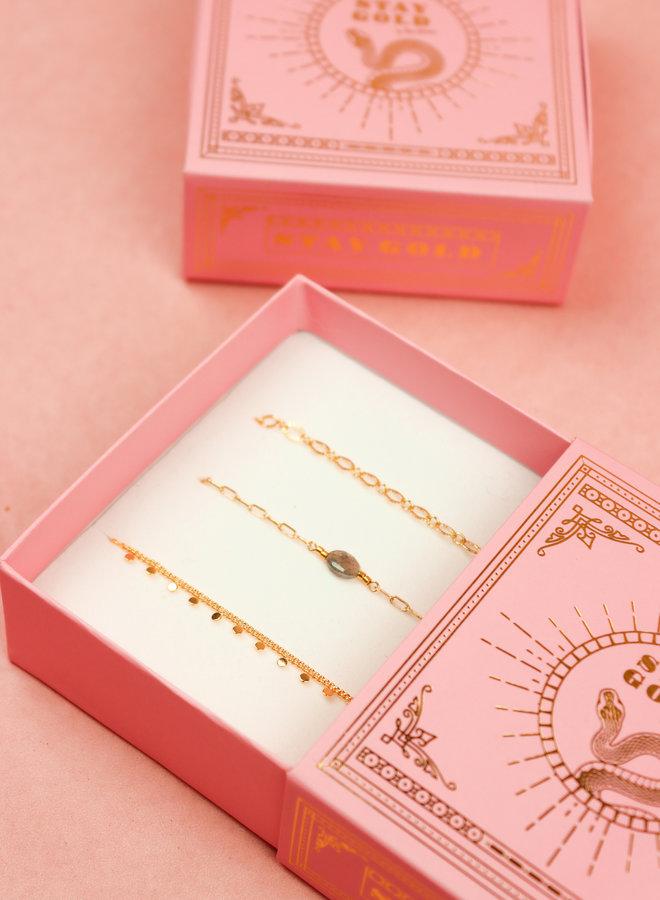Bracelet Giftbox Set - Labradorite