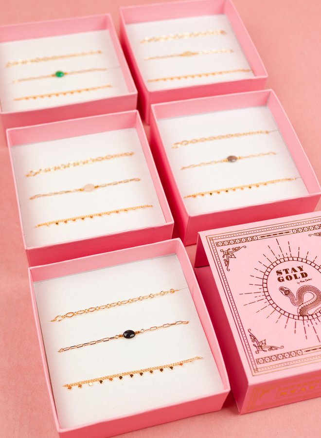 Bracelet Giftbox Set - Moonstone