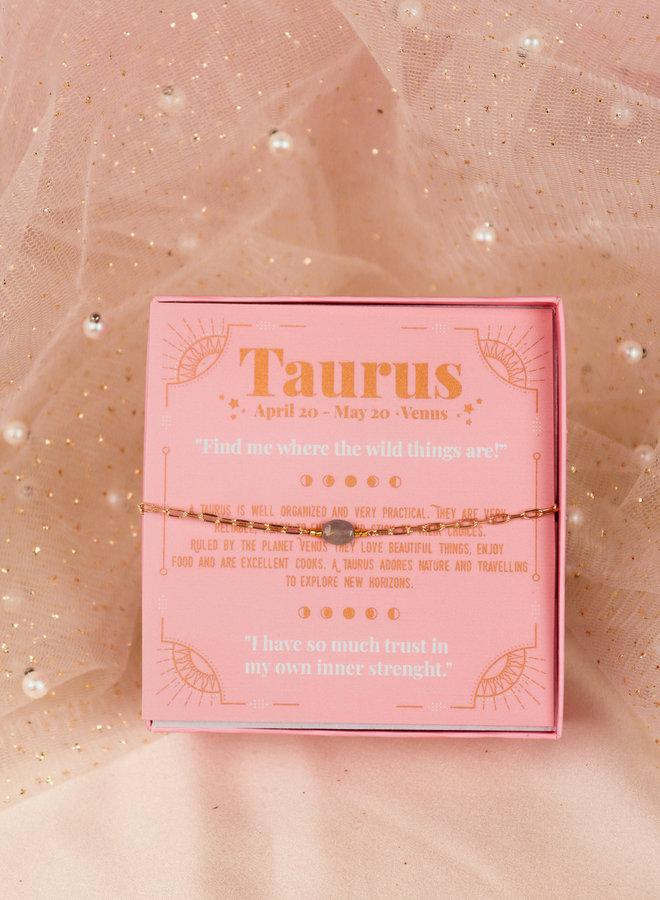 Taurus birthstone bracelet